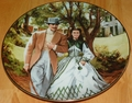 Gone With The Wind Collector Plate Home to Tara