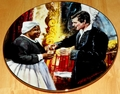 Gone With The Wind Collector Plate Toast to Bonnie Blue
