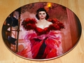 Gone With The Wind Collector Plate Scarlett's Resolve