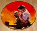 Gone With The Wind Collector Plate Fiery Embrace