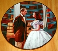 Gone With The Wind Collector Plate A Declaration of Love