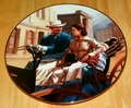 Gone With The Wind Collector Plate Buggy Ride