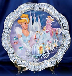 Disney Collector Plate Jewels of Disney Series - 1st Issue Cinderella SOLD