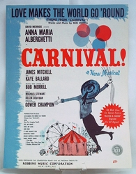 Sheet Music Love Makes the World Go 'Round - Carnival