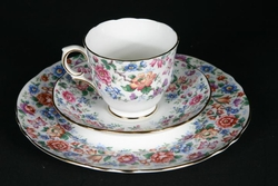 Royal Victoria Floral Trio - Plate Cup & Saucer