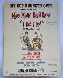 Sheet Music My Cup Runneth Over 1966