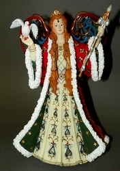 San Francisco Music Box Resin Angel Figurine