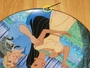Disney Collector Plate Pocahontas Listen To Your Heart Out of Stock