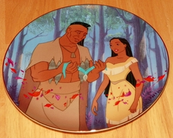 Disney Collector Plate Pocahontas Father's Love SOLD