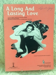 Sheet Music A Long and Lasting Love