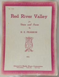 Sheet Music Red River Valley 1935