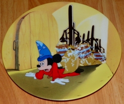 Disney Collector Plate Fantasia Series Wizardry Gone Wild Out of Stock