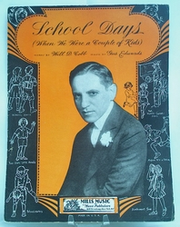 Sheet Music School Days 1941