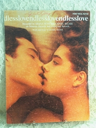Sheet Music Endless Love