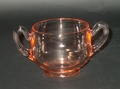 Cambridge Pink Round Sugar Bowl