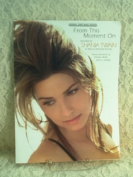 Sheet Music 1997 From This Moment On Shania Twain
