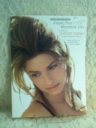 Sheet Music From This Moment On Shania Twain 1997