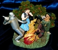 Figurine How About a Little Fire, Scarecrow Franklin Mint