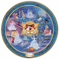 Disney Collector Plate Ever After Series Cinderella SOLD