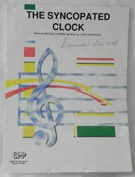 Sheet Music The Syncopated Clock 1946