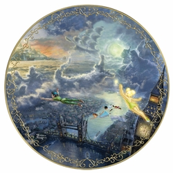 Collector Plate from Thomas Kinkade and Disney Peter Pan SOLD