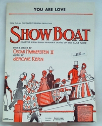 Sheet Music You Are Love from Show Boat 1927