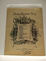 Collectible Sheet Music Iris 1895