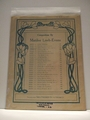 Collectible Sheet Music Silver Waves