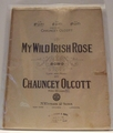 Collectible Sheet Music My Wild Irish Rose