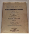 Collectible Sheet Music Little Grey Home In The West