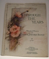 Collectible Sheet Music Through The Years