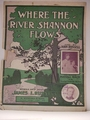 Collectible Sheet Music Where The River Shannon Flows
