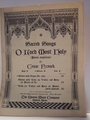 O Lord Most Holy � Sheet Music