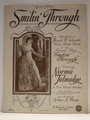 Smilin Through Souvenir Edition � Sheet Music