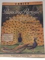 Collectible Sheet Music Vanity - Passing Parade of 1922