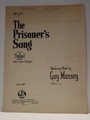 The Prisoner's Song - Sheet Music