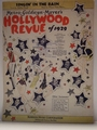 Singin In The Rain Hollywood Revue of 1929  Sheet Music