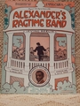Collectible Sheet Music Alexander's Ragtime Band