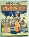 Sheet Music Disney's Heigh-Ho Snow White On HOLD