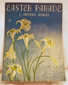 Sheet Music Easter Parade Irving Berlin 1933