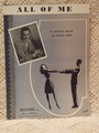 Collectible Sheet Music All of Me Perry Como