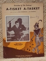 Collectible Sheet Music A-Tisket A-Tasket Ella Fitzgerald