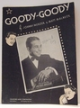 Goody-Goody- Sheet Music