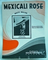 Sheet Music Mexicali Rose