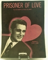Sheet Music Prisoner of Love 1931
