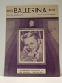 Collectible Sheet Music Ballerina Mel Torme