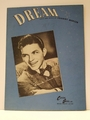 Collectible Sheet Music Dream Frank Sinatra