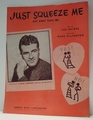 Just Squeeze Me (But Don't Tease Me) - Sheet Music