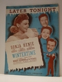 Later Tonight 20th Cent. Wintertime - Sheet Music