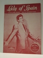 Lady of Spain Eddie Fisher - Sheet Music